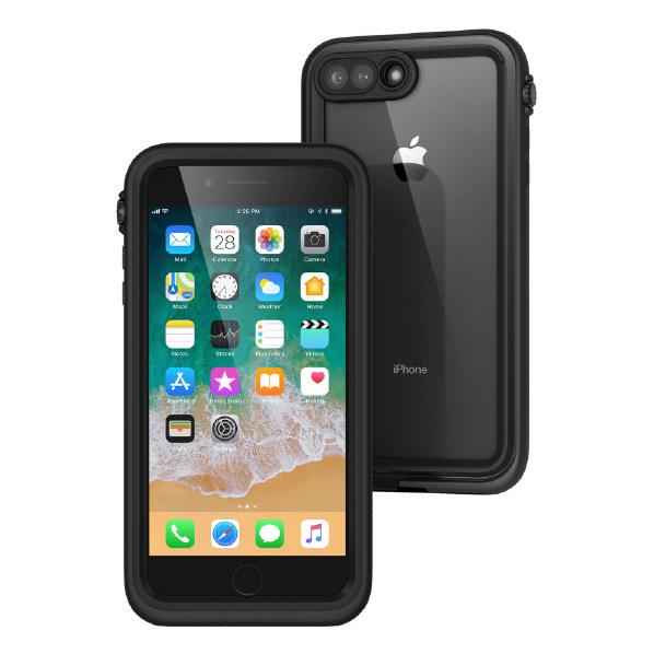 【送料無料】トリニティ iPhone 8 Plus/7 Plus用完全防水ケース ブラック CT-WPIP175-BK [CTWPIP175BK]