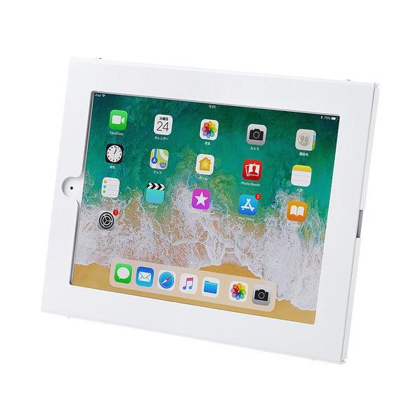サンワサプライ iPad用壁面取付けケース CR-LASTIP26W [CRLASTIP26W]