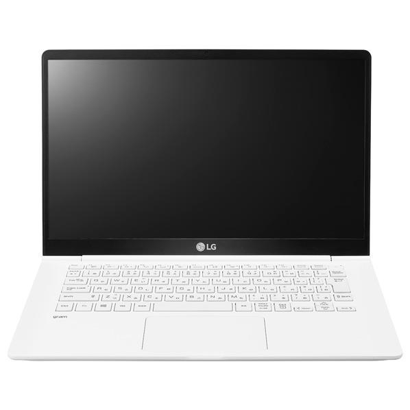 LGエレクトロニクス ノートパソコン gram ホワイト 14Z980-GA55J [14Z980GA55J]【RNH】