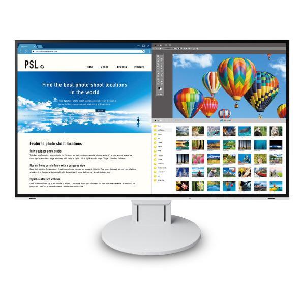 EIZO 27.0型4K対応液晶ディスプレイ FlexScan ホワイト EV2785-WT [EV2785WT]【RNH】