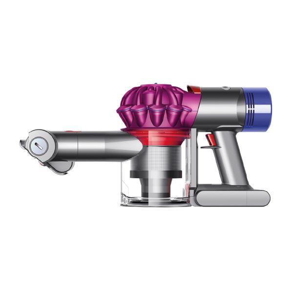 【あんしん延長保証対象】衛生的で簡単なゴミ捨て。 ダイソン サイクロン式ハンディクリーナー V7 Trigger アイアン/フューシャ HH11MH [HH11MH]【RNH】【FBMP】