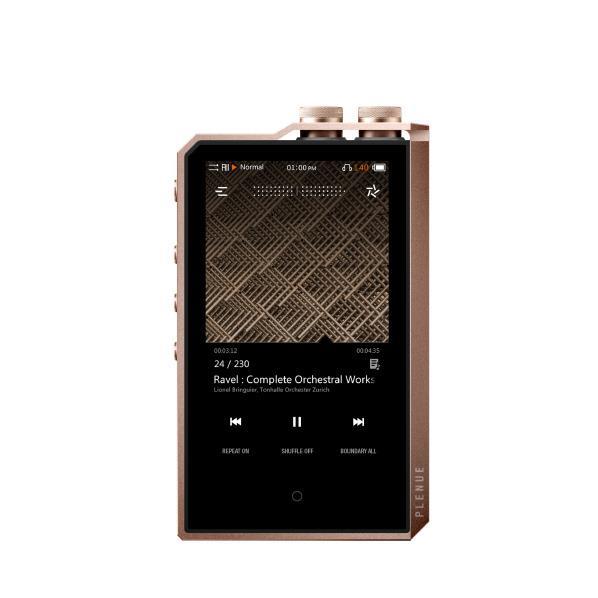COWON ポータブルハイレゾ対応オーディオプレーヤー(256GB) PLENUE 2 Mark II Jupiter Gold P2MK2-256G-JG [P2MK2256GJG]
