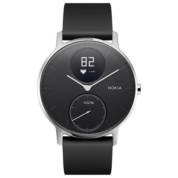 NOKIA ウェアラブルウォッチ Nokia スマートウォッチシリーズ ブラック HWA03-36BLACK-ALL-JP [HWA0336BLACKALLJP]