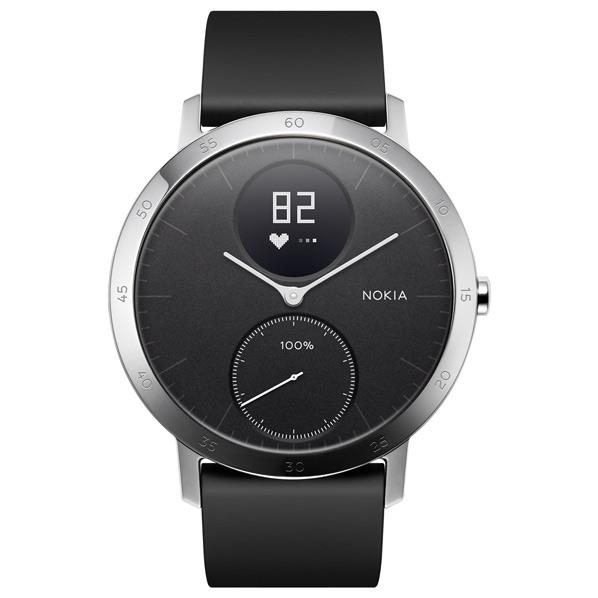 NOKIA ウェアラブルウォッチ Nokia スマートウォッチシリーズ ブラック HWA03-40BLACK-ALL-JP [HWA0340BLACKALLJP]