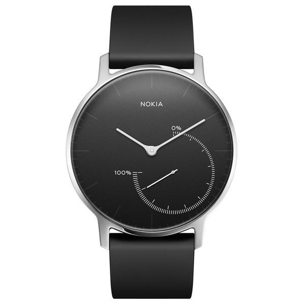 NOKIA ウェアラブルウォッチ Nokia スマートウォッチシリーズ ブラック HWA01-STEEL-BLACK-ALL-JP [HWA01STEELBLACKALLJP]