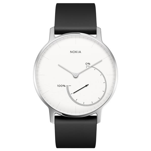 NOKIA ウェアラブルウォッチ Nokia スマートウォッチシリーズ ホワイト HWA01-STEEL-WHITE-ALL-JP [HWA01STEELWHITEALLJP]