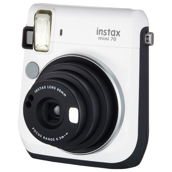 富士フイルム インスタントカメラ ホワイト INSMINI70NWHITE [INSMINI70NWHITE]