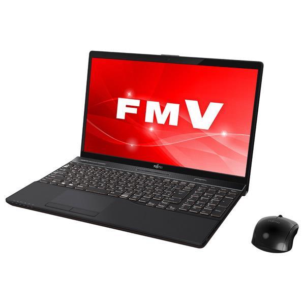 【送料無料】富士通 ノートパソコン LIFEBOOK ブライトブラック FMVA53C2B [FMVA53C2B]【RNH】