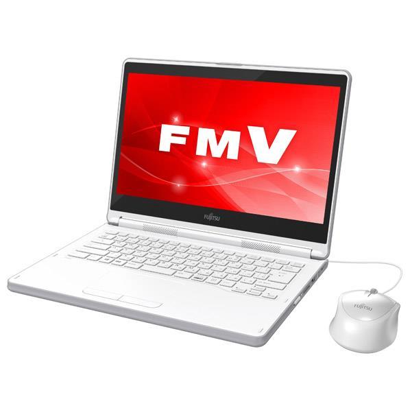 富士通 ノートパソコン LIFEBOOK アーバンホワイト FMVL55C2W [FMVL55C2W]【RNH】