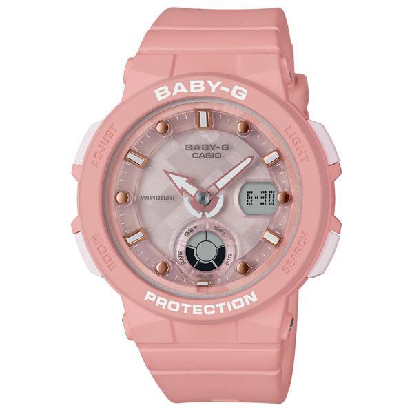 カシオ 腕時計 BABY-G ビーチトラベラー ピンク BGA-250-4AJF [BGA2504AJF]