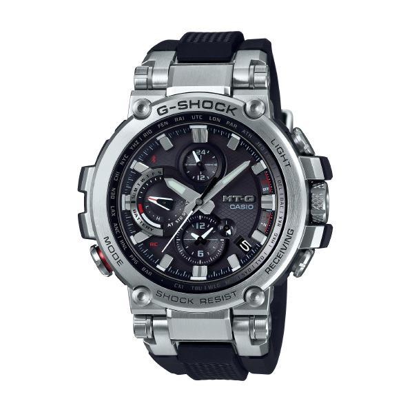 カシオ ソーラー電波腕時計 G-SHOCK MT-G ブラック MTG-B1000-1AJF [MTGB10001AJF]