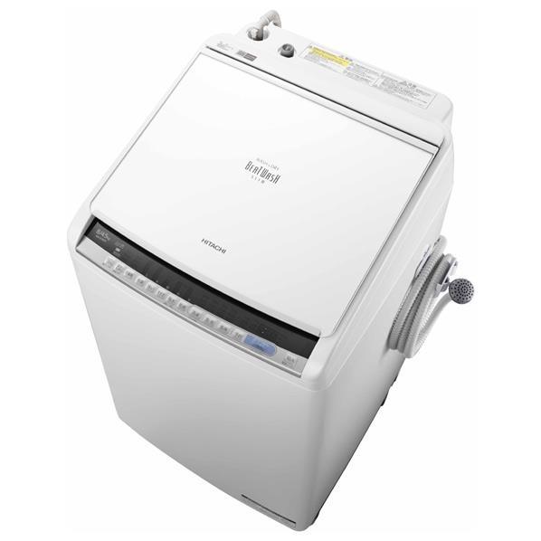 日立 8.0kg洗濯乾燥機 ビートウォッシュ ホワイト BWDV80CW [BWDV80CW]【RNH】
