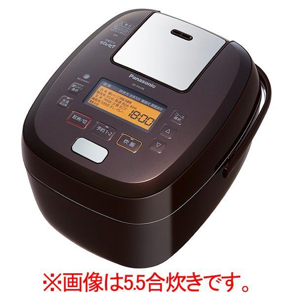 パナソニック 可変圧力IH炊飯ジャー(1升炊き) ブラウン SR-PA188-T [SRPA188T]【RNH】