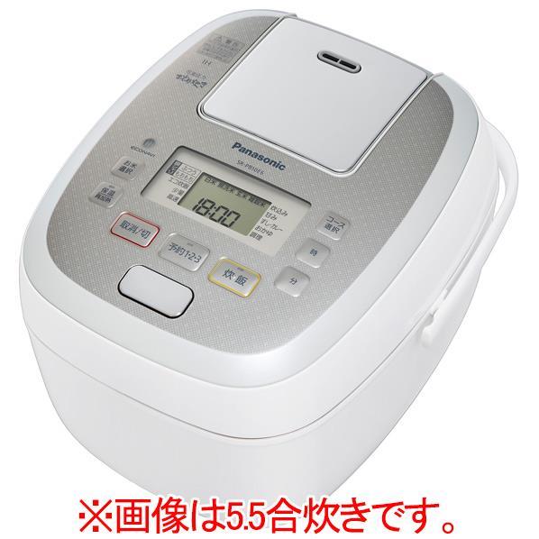 パナソニック 可変圧力IH炊飯ジャー(1升炊き) KuaL 可変圧力おどり炊き ホワイト SR-PB18E6-W [SRPB18E6W]【RNH】