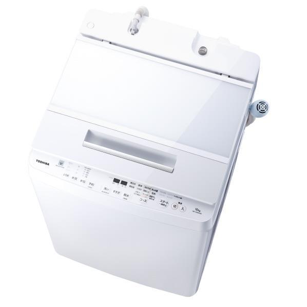 東芝 10.0kg全自動洗濯機 オリジナル グランホワイト AW-10SDE6(W) [AW10SDE6W]【RNH】