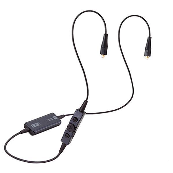 エレコム MMCX対応 Bluetoothワイヤレスレシーバー ブラック LBT-HPC1000RC [LBTHPC1000RC]