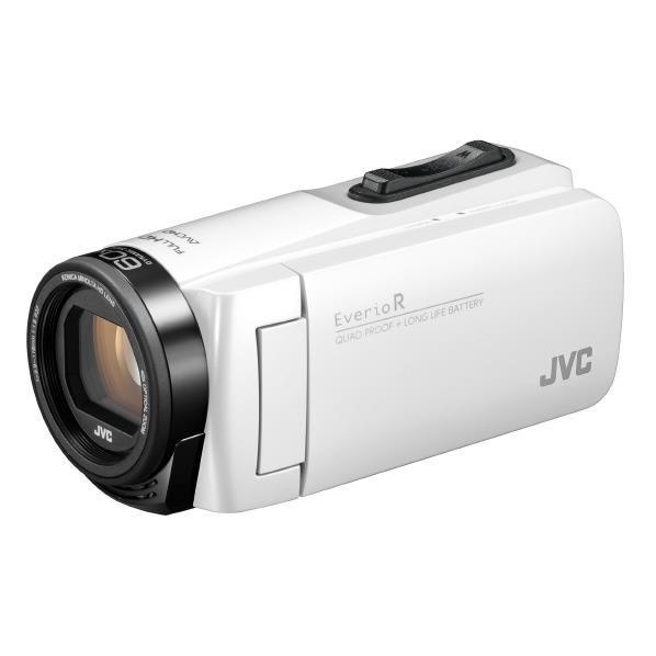 ビクター 32GB内蔵メモリー ハイビジョンビデオカメラ シャインホワイト GZ-R480-W [GZR480W]【RNH】