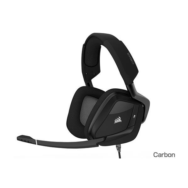 コルセア USBゲーミングヘッドセット VOID PRO RGB USB カーボン CA-9011154-AP [CA9011154AP]