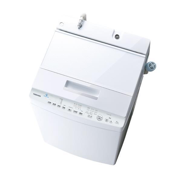 東芝 8.0kg全自動洗濯機 ZABOON グランホワイト AW-8D7(W) [AW8D7W]【RNH】