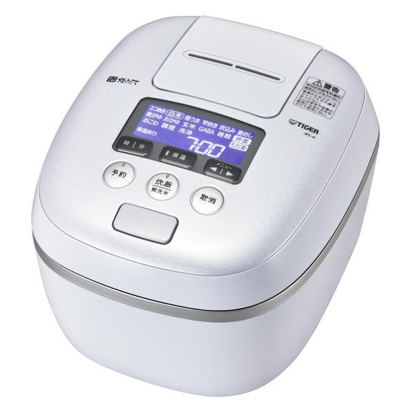 タイガー 圧力IH炊飯ジャー(5.5合炊き) 炊きたて アーバンホワイト JPC-A102-WE [JPCA102WE]【RNH】