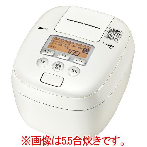 タイガー 圧力IH炊飯ジャー(1升炊き) 炊きたて ミルキーホワイト JPC-B182-WM [JPCB182WM]【RNH】