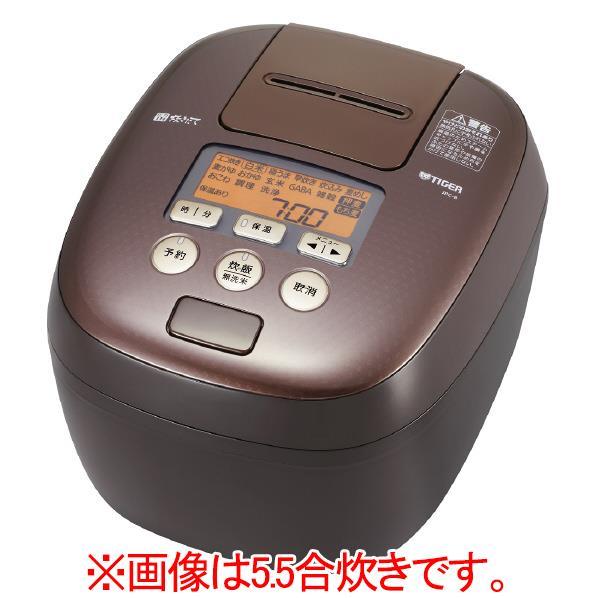 タイガー 圧力IH炊飯ジャー(1升炊き) 炊きたて カカオブラウン JPC-B182-TC [JPCB182TC]【RNH】