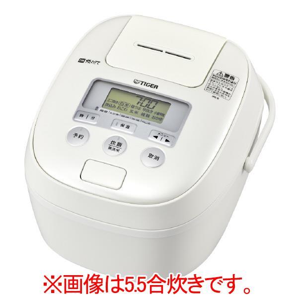タイガー IH炊飯ジャー(1升炊き) 炊きたて ミルキーホワイト JPE-B181-WM [JPEB181WM]【RNH】