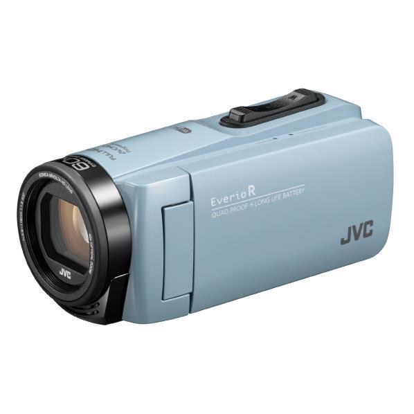 ビクター 64GB内蔵メモリー フルハイビジョンビデオカメラ サックスブルー GZ-RX680-A [GZRX680A]【RNH】