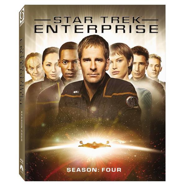 NBCユニバーサル スター・トレック エンタープライズ シーズン4 ブルーレイBOX【6枚組】 【Blu-ray】 PPWB-135807 [PPWB135807]【WS1819】