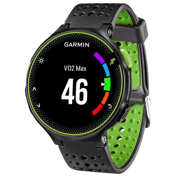 GARMIN GPSランニングウォッチ フォアスリート ブラック/グリーン 37176K [FA235JBKGR]
