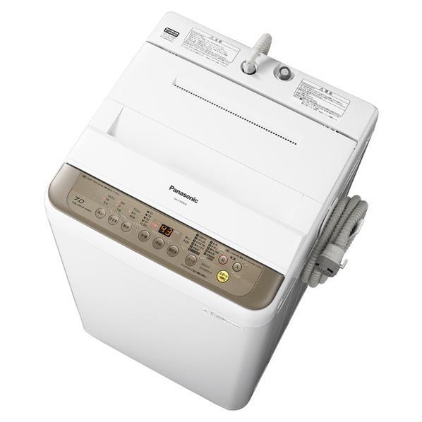 【送料無料】パナソニック 全自動洗濯機 洗濯・脱水容量7kg ブラウン NA-F70PB10-T [NAF70PB10T]【RNH】