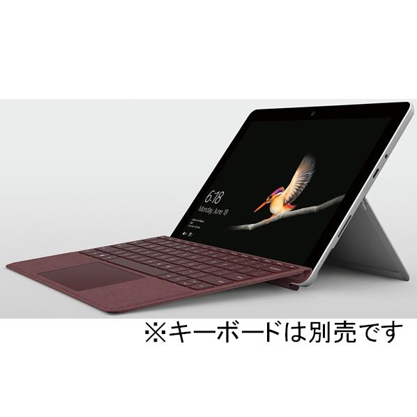マイクロソフト Surface Go(Pentium Gold/4GB/64GB) シルバー MHN-00014 [MHN00014]【RNH】