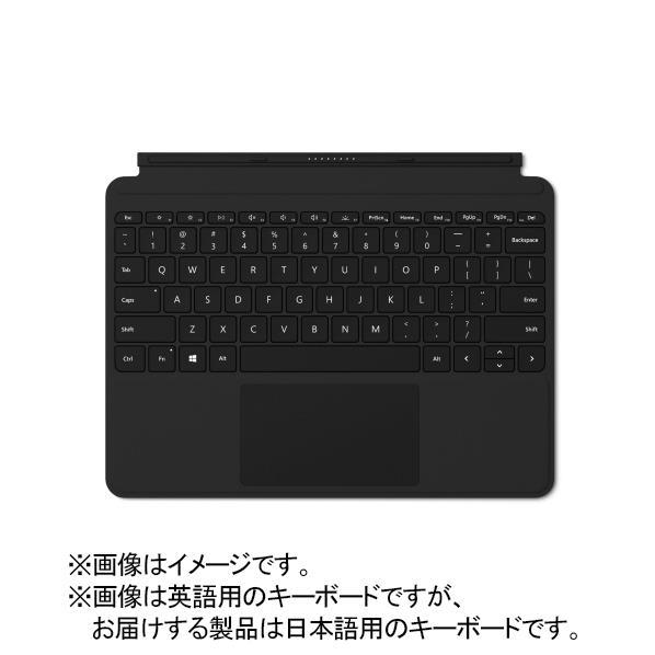 【送料無料】マイクロソフト Surface Go タイプカバー ブラック KCM-00019 [KCM00019]