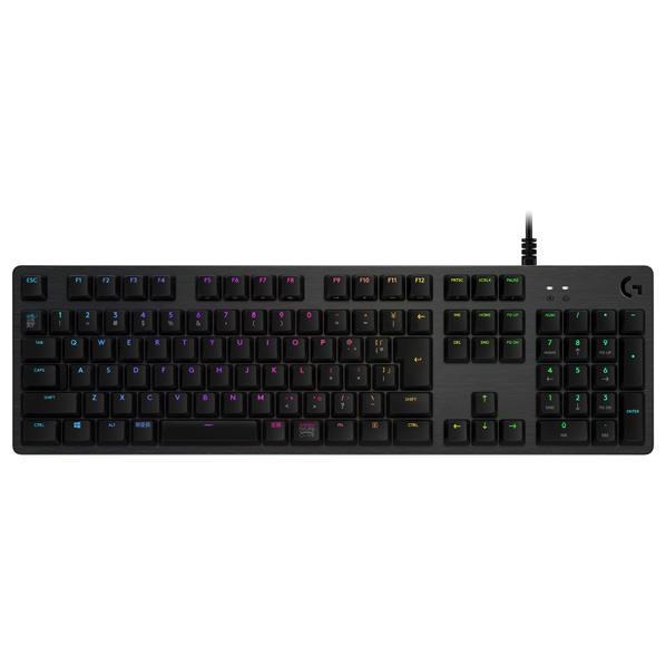 ロジクール RGB メカニカル ゲーミング キーボード LogicoolG カーボンブラック G512-CK [G512CK]
