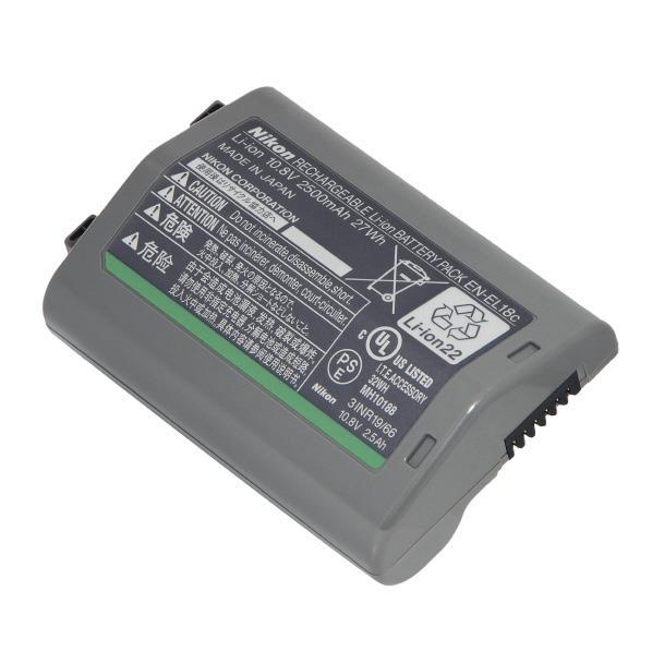 ニコン Li-ionリチャージャブルバッテリー ENEL18C [ENEL18C]