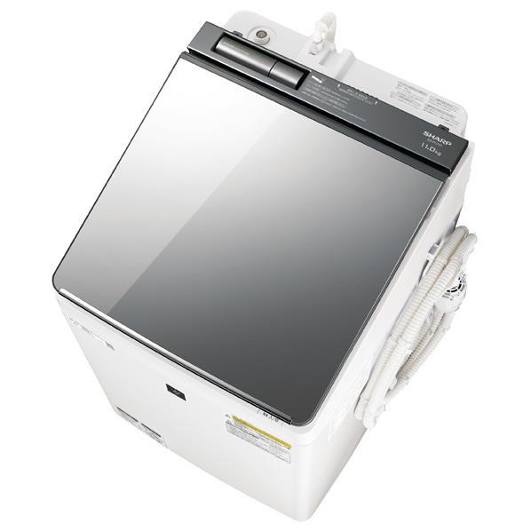 【送料無料】シャープ 11.0kg洗濯乾燥機 シルバー系 ESPU11CS [ESPU11CS]【RNH】