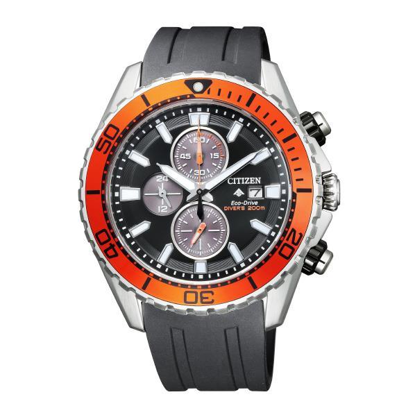 シチズン エコ・ドライブ時計 プロマスター MARINE ダイバー200m クロノグラフ CA0718-21E [CA071821E]