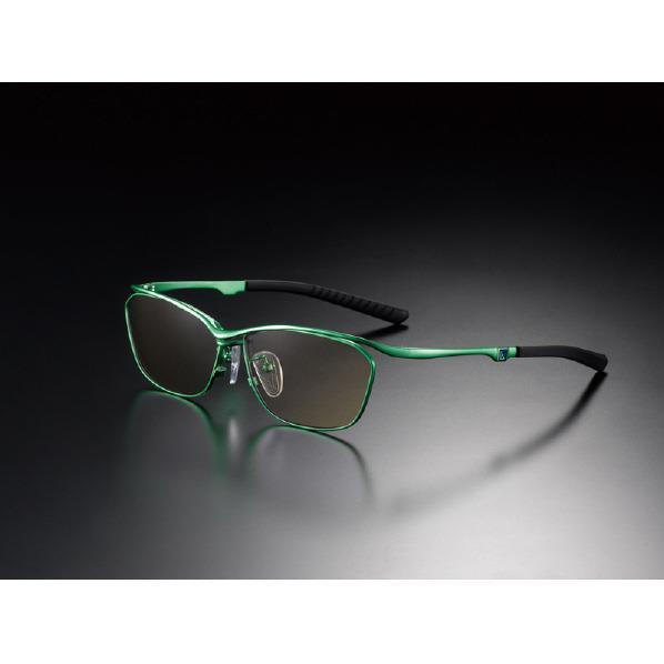 ニデック G-SQUARE アイウェア フルリム[格闘] Casual Model Green C2FGEF4GRNP9362 [C2FGEF4GRNP9362CAフルGRBR]
