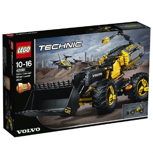 レゴジャパン LEGO テクニック 42081 ボルボ コンセプトホイールローダー 42081ボルボコンセプトホイ-ルロ-ダ [42081ボルボコンセプトホイ-ルロ-ダ]