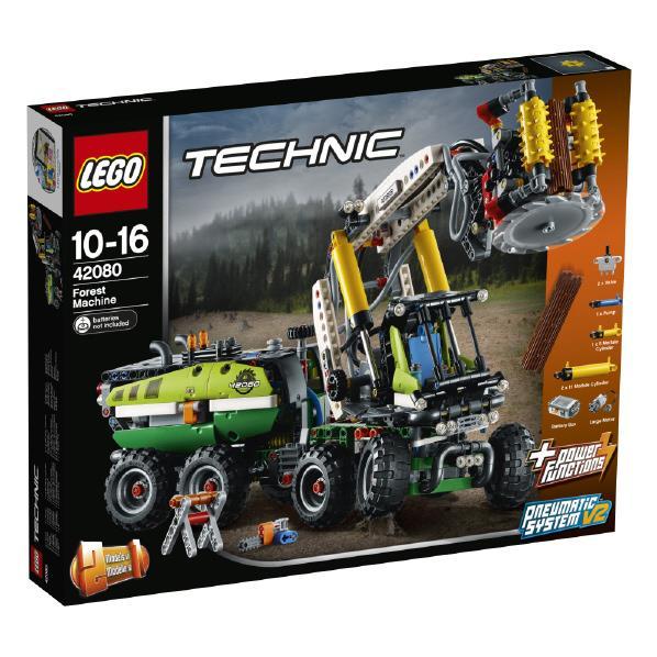 レゴジャパン LEGO テクニック 42080 森林作業車 42080シンリンサギヨウシヤ [42080シンリンサギヨウシヤ]