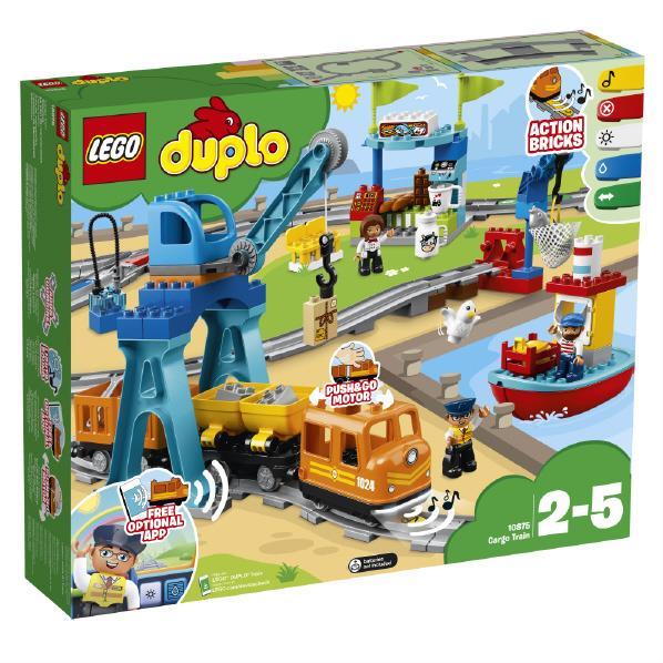 レゴジャパン LEGO デュプロ 10875 キミが車掌さん!おしてGO機関車スーパーデラックス 10875キミガシヤシヨウサンキカンシヤSPDX [10875キミガシヤシヨウサンキカンシヤSPDX]
