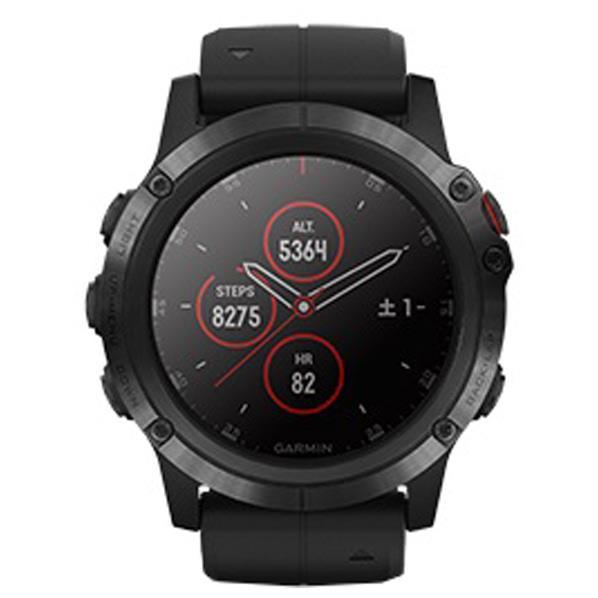 GARMIN マルチスポーツ型GPSウォッチ Fenix ブラック 010-01989-63 [FENIX5XPLUSSPBK]