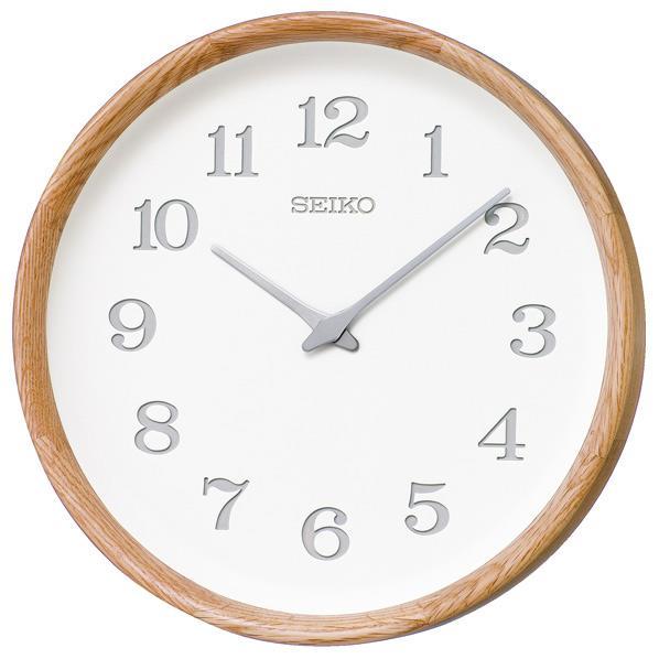 SEIKO 電波掛時計 nu・ku・mo・ri KX239A [KX239A]