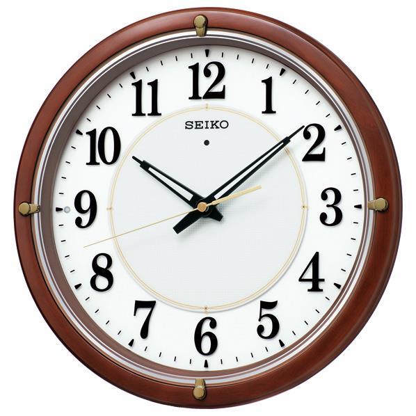 SEIKO 電波掛時計 nu・ku・mo・ri KX239H [KX239H]