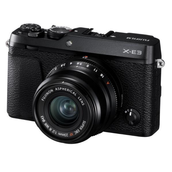 富士フイルム デジタル一眼カメラ XF23mmF2 R WRキット X-E3 ブラック FXE3LK23F2B [FXE3LK23F2B]【RNH】
