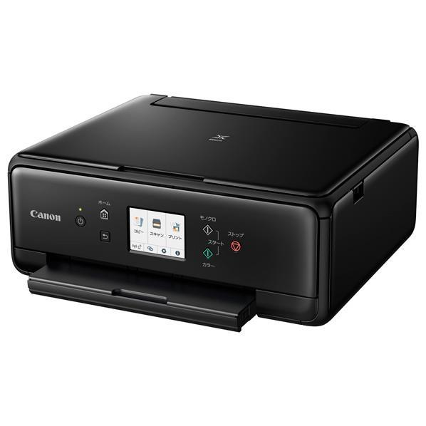 キヤノン インクジェットプリンター PIXUS TS6230 ブラック TS6230BK [TS6230BK]【RNH】