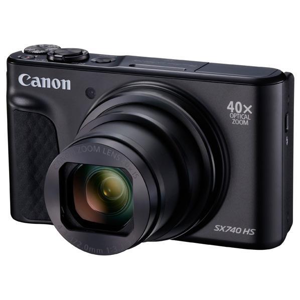 キヤノン デジタルカメラ PowerShot SX740 HS ブラック PSSX740HSBK [PSSX740HSBK]【RNH】