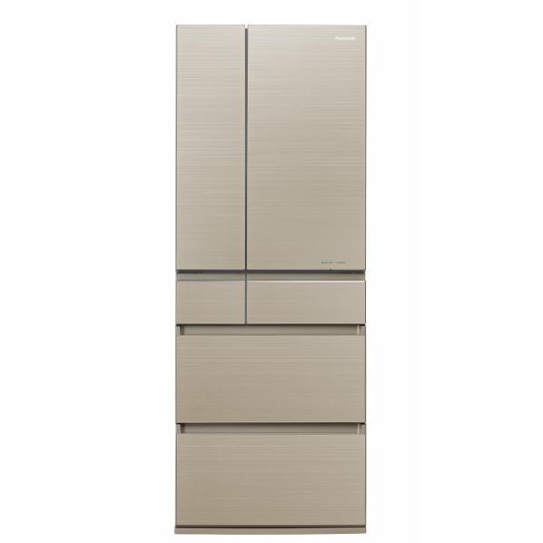 パナソニック 600L 6ドアノンフロン冷蔵庫 マチュアゴールド NR-F604HPX-N [NRF604HPXN]【RNH】