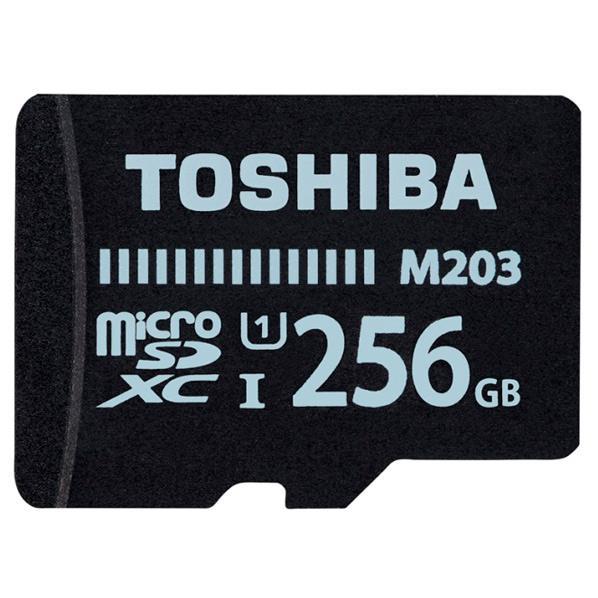 東芝 高速microSDXC UHS-Iメモリカード(Class10対応・256GB) MU-J256GX [MUJ256GX]