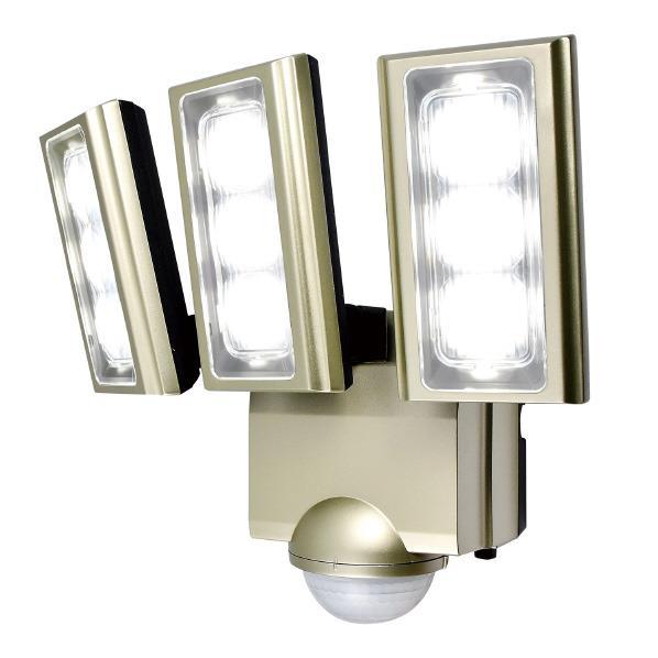 エルパ LEDセンサーライト AC電源タイプ(3灯) ESLST1203AC [ESLST1203AC]